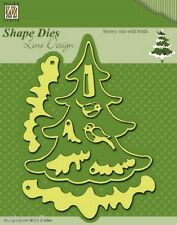 Nellie SHAPE DIES Lene Design SNOWY TREE BIRDS  SDL009 Nellie's Choice