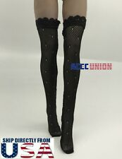 """1/6 Sexy Lace Stockings For 12"""" Tbleague Phicen Verycool Female Figure U.S.A."""