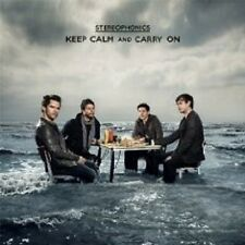 """STEREOPHONICS """"KEEP CALM AND CARRY ON"""" CD NEU"""