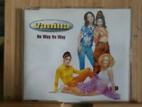 VANILLA, NO WAY NO WAY, 180, EX/EX, 4 Track, CD Single, Picture Sleeve, EMI