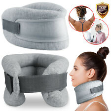 Professional Adjustable Cervical Collar Neck Traction Brace Support Pain Relief