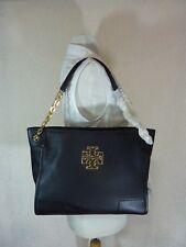 d5bae670cb12 Tory Burch Britten Small Slouchy Tan Leather Tote 31159877