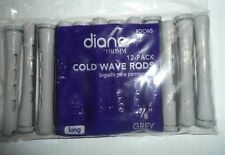 "Diane 3/8"" Cold Wave Rods Curlers Hair Perm #DCW5SH 12-pieces - Grey - Short"