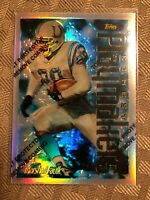 1996 Finest Silver Uncommon Refractor Marshall Faulk SP Insert Colts Rams #137