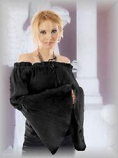 Lockre Sitzende Hüftlang Damenblusen,-Tops & -Shirts mit Carmen und Baumwolle