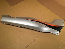 USED Kawasaki 03-04 Ninja 500 (EX-500) Gray / Silver Right Side Cover