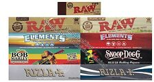 KING SIZE ROLLING PAPERS VARIETY PACK AND RAW TIPS COMBO (ULTIMATE SET)