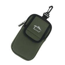 Multi-function Neoprene Camping Hiking Zip Case Pouch Bag Holder w/ Hook