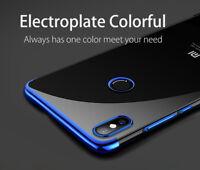 Per Xiaomi Mi 8 Pro Cover Custodia TPU Silicone Ultra Sottile Protettiva Blu
