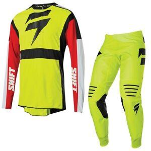 Brand New Shift MX Adult Black Label Race Motocross MX Kit Size 28W Small