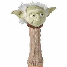 Licensed Hand Puppet Star Wars Figure for Self Expression - Yoda