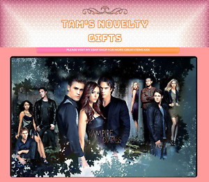 Vampire Diaries mouse mat / place mat free uk postage perfect gift
