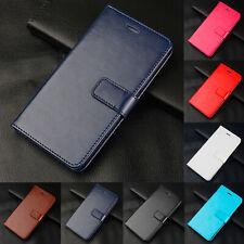 Cartera de cuero soporte tarjeta a presión Funda cubierta para Xiaomi Mi F1 8 9 Redmi S2 6 7 Go