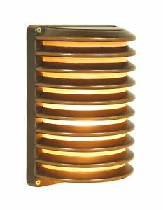 Outdoor Wall lantern D:7.3 H:10 60W Oil Bronze Finish Frosted glass Lens