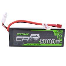 50C 7.4V 5000mAh 2S Lipo Battery Hardcase Deans Plug 21# For RC Car Truck Redcat