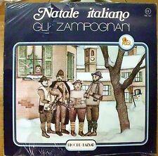 GLI ZAMPOGNARI NATALE ITALIANO TU SCENDI DALLE STELLE LP SEALED 1979 FOLK ITALY