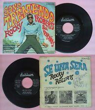 LP 45 7'' ROCKY ROBERTS & I PIRANAS Sono tremendo Se una sera 1968 no cd mc dvd