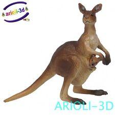 PAPO KANGAROO - KANGOUROU 50023 FIGURINE ANIMAL HANPPAINTING HIGHT QUALITY