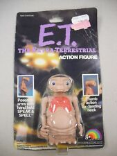 "4"" TALL ""E.T. THE EXTRA-TERRESTRIAL"" POSEABLE ACTION FIGURE W/MOVING ARMS & NECK"