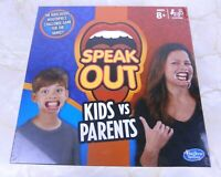 Hasbro Speak Out Kids Vs Parents Game EAN: 5010993411078 Brand New Sealed
