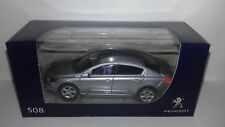 Norev 3 inch Peugeot 508 sedan Gris Artense nieuw in Peugeot dealer doosje