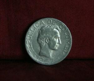 1967 10 Centavos Colombia World Coin KM226 ten cents Diez Santander