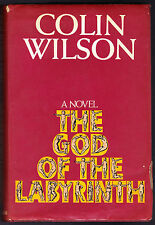 Colin Wilson - The God of the Labyrinth, 1st Ed 1970 - Original DW, Erotic Novel