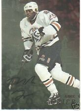 98/99  BE A PLAYER *GOLD* AUTOGRAPHS MIKE GRIER