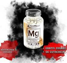 IronMaxx Mg Magnesium 130 Kapseln Caps Mineralstoffe Magnesiumoxid B2