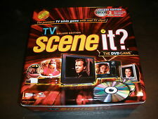 Scene It? The DVD Game: TV Deluxe Edition, DVD Video Game Tin Box, 100% Complete