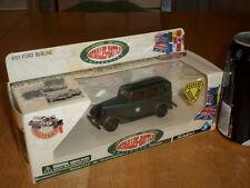 SOLIDO TOYS- WW#2, U.S.A. FORD BERLINE SEDAN CAR, Die Cast Metal Toy, Scale 1:50