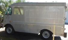 "PAIR ""LT & RT"" of .Rare Early SHORT Version Grumman Corner Step Van Window"