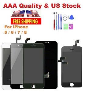 Reemplazo del ensamblaje de la pantalla tactile LCD para iPhone 6 6s 7 8 Plus
