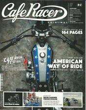 CAFE RACER(FRANCE) No.94 J/August 2018 (NEW COPY)*Post included to UK/Europe/USA