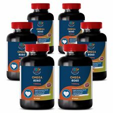 Reduce The Signs Of Aging - OMEGA 8060 3000mg - Fish Oil Omega 3 6B