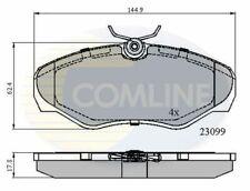 Front Brake Pads FOR RENAULT TRAFIC II 1.9 2.0 2.5 01->14 Diesel Petrol Comline