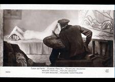 """ART PEINTURE / FEMME Modéle & ARTISTE PEINTRE """"NU"""" par Eugene PASCAU"""