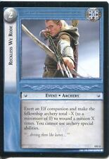 Lord Of The Rings CCG Card SoG 8.R12 Reckless We Rode