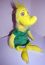 "Dr Seuss Sneetch Doll 19"" Plush Doll Green Dress Kohl's Cares For Kids 2005"
