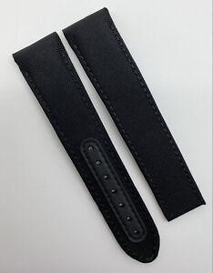 Authentic Omega Speedmaster DSOTM 21mm x 18mm Black Cordura Strap CWZ003216 OEM