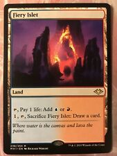 MTG - Fiery Islet - Modern Horizons - Rare Land