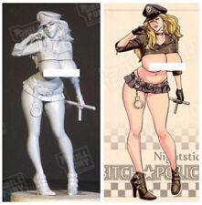 1:20 Bitch Police Hot Sexy Female Nightstick Resin Model Kit Figure Unpainted