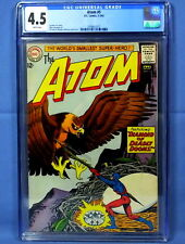DC Comics The Atom #5 CGC 4.5 White Pages Fox Sekowsky Kane Anderson Silver Age