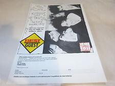 THE CURE - Publicité de magazine / Advert KISSING TOUR BEST !!!!!!!!!