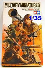 Military Figures U.S. GUN & MORTAR TEAM SET Tamiya 35086 unassembled 1/35