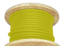 100' 4/0 AWG Welding Cable Yellow Flexible Outdoor Wire Durable New