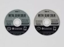 Metal Gear Solid: The Twin Snakes (Nintendo GameCube, 2004) Game Discs Only
