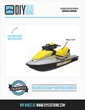 GTS PRO RXT WAKE GTI SE LTD SEA DOO YELLOW Seat Skin Cover 2009 10 11 12 13 2014