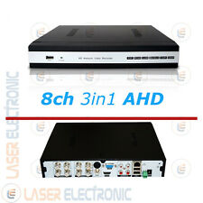 DVR VIDEOSORVEGLIANZA AHD 8CH CANALI BNC FULL HD 1080N VGA HDMI AUDIO OUT