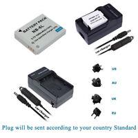 Battery for Canon PowerShot SX530 HS SX610 HS SX710 HS NB-6L, NB-6LH +Charger